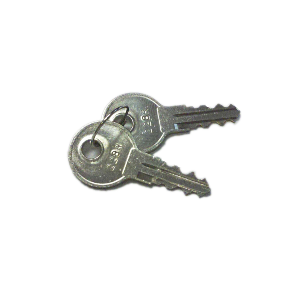 2 Pop /& Lock Truck Tailgate Replacement Keys Codes IL01 to IL50 and lock key